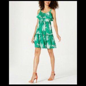 Taylor Women's Tiered Empire-Waist Mini Dress NwT
